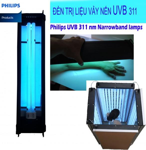 Đèn UVB 311 nm Philips 36w chữa trị vảy nến